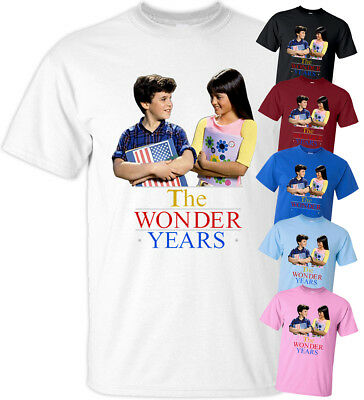 The Wonder Years Family Collage Women/'s Black T-shirt NEW Sizes S-2XL