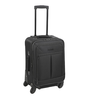 Spinner Travel Luggage Durable Sturdy Suitcase Trolley Roll Wheel Carry On Cabin