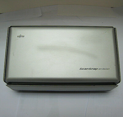 USED Fujitsu ScanSnap S1500 Document Image Scanner Color Pass-Through #895