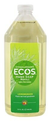 Earth Friendly - ECOS Hand Soap Refill Organic Lemongrass - 32 fl. oz.