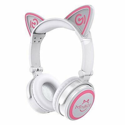 [Cat ear headphones] MindKoo sealed Bluetooth wireless Black