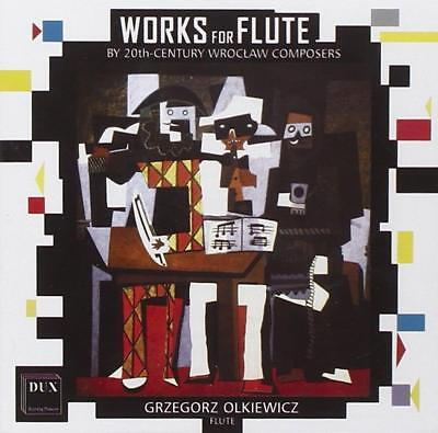 Grzegorz Olkiewicz • Works for Flute by 20th Century Wroclaw Composers CD