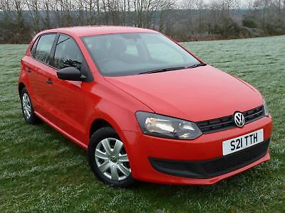 2010 Volkswagen Polo 1.2 ( 60ps ) S 5dr Red