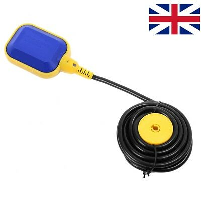 UK Float Switch 3M 250 V Automatic Cable Water Level Control Pump Submersible