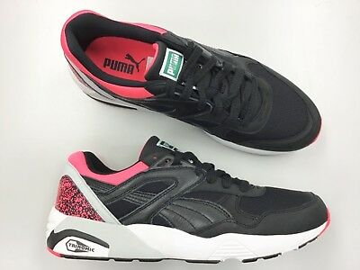 f79bb6b0439 Brand New Men PUMA Trinomic R698 running shoes black pink vtg trainers max