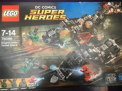 DC Comics Lego Super Heroes 76086 Justice League Knightcrawler Tunnel Attack  Toy cad066cc2f