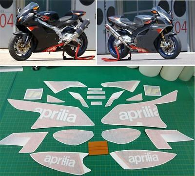 Aprilia RSV Mille 1000R 2004 replacement Decals / Stickers