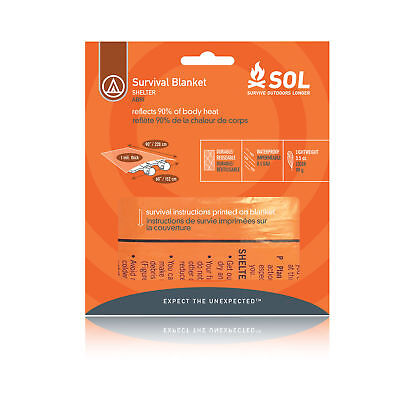 Advanced Orange Trousse Couverture De Survie Chaud Sac De Couchage 2 Personnes