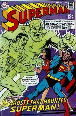 Superman (Vol 1) # 214 (VG+) (Vy Gd Plus+) DC Comics ORIG US