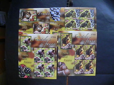 2014 - Romania - Flora And Fauna Romania, Numberend Block, MNH