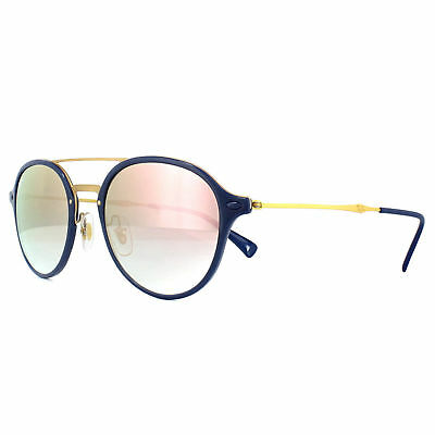 042fa672cf4 NEW Rayban Sunglasses RB4287 872 B9 55mm Blue-Gold Pink Gradient 4287  AUTHENTIC