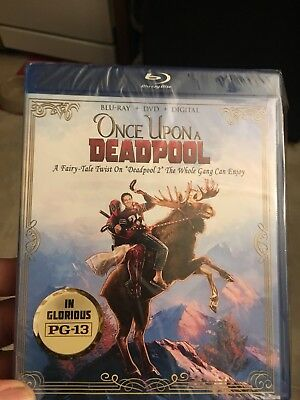 ONCE UPON A DEADPOOL Blu-ray/DVD No Digital