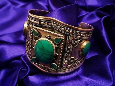 Sovereign Marid Djinn Bound Cuff Bracelet - YOUR WISH IS THEIR COMMAND!!!
