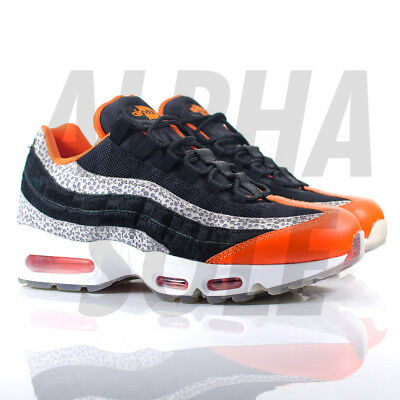 wholesale dealer 10d51 784ed Nike Air Max 95  Greatest Hits Pack - Black Granite Safety Orange