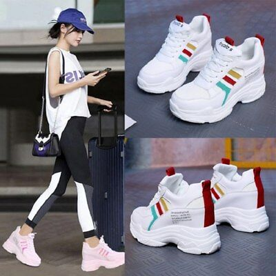 2019 Fashion Sneakers Women Casual Shoes Large Size 35 40