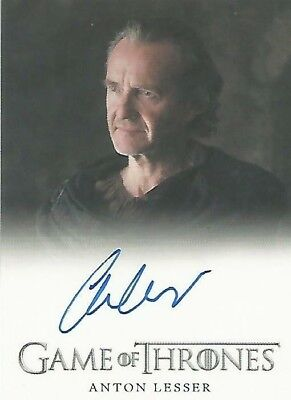 Game Of Thrones Anton Lesser As Qyburn Full-Bleed Card