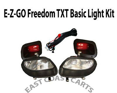 EZGO TXT48 Freedom Valor (2014+) Light Kit Halogen Headlights and LED Taillights