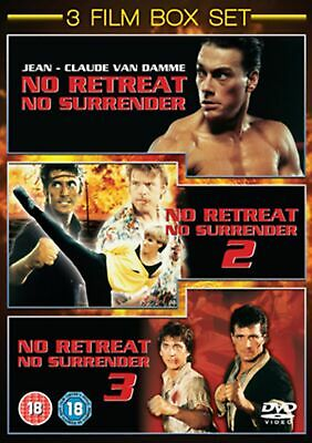 No Retreat, No Surrender 1-3 (Box Set) [DVD]
