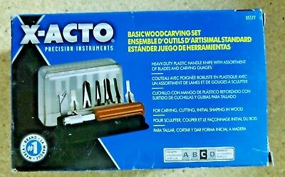 X-Acto Woodcarving Basic Set [5177]  CLEARANCE-Free Shipping