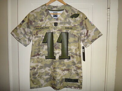 CARSON WENTZ PHILADELPHIA Eagles Nike NFL Salute to Service Jersey  for sale