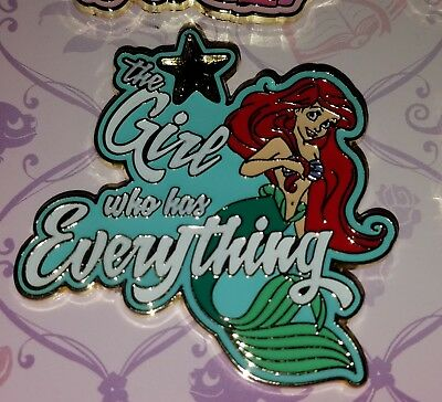 Disney Pin Ariel The Girl Who Has Everything Trading Pin FREE SHIPPING
