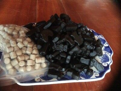 Dutch Licorice (Hollandse drop) DROP MIX BIG 500g Bag