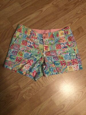 b869bf22b328db LILLY PULITZER STATE of Mind United States Callahan Shorts Patch ...