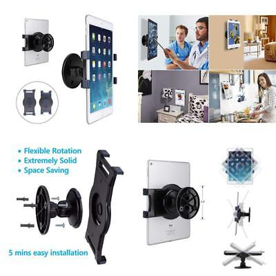 Tablet Wall Mount Swivel 360° Rotating Tablet Holder W/ 2 Brackets To Fit 6-13