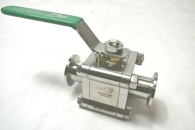 A&N Corporation SW21809-81693-01 Stainless Steel Ball Valve VGC