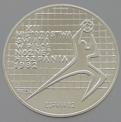 POLAND SILVER 200 ZLOTYCH 1982 PROOF PROBA   #p23 129