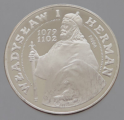 POLAND SILVER   200 ZLOTYCH 1981 PROOF PROBA #p23 095