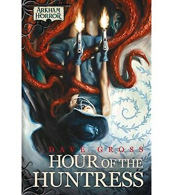 Arkham Horror - Hour of the Huntress Hardcover Book Plus LCG Cards