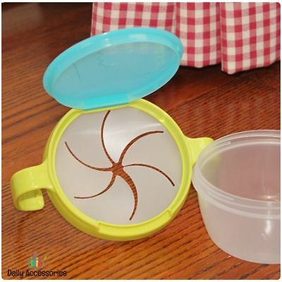 Anti Spill Baby Dishes Bowl Cup Food Holder Safe Materials Food Tank Storage