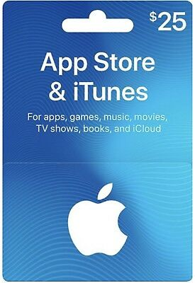 Canadian Itunes Gift Card - 25$