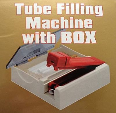 Filling Machine With Box Rolling Cigarette Tobacco Maker Injector Roller Mull