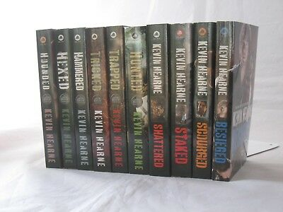 The Iron Druid Chronicles #1-9 and Besieged by Kevin Hearne (10-Book Set, MM PB)