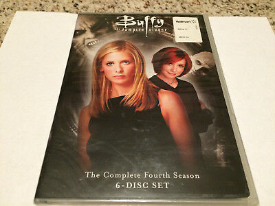 Buffy the Vampire Slayer ~ Complete Fourth Season 4 Four ~ NEW 6-DISC DVD SET