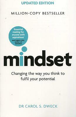 Mindset Updated Edition by Carol Dweck Paperback Book