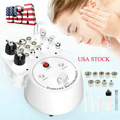 Diamond Dermabrasion Blackhead Vacuum PeelPore  Acne Remover Ultrasonic Cleaning