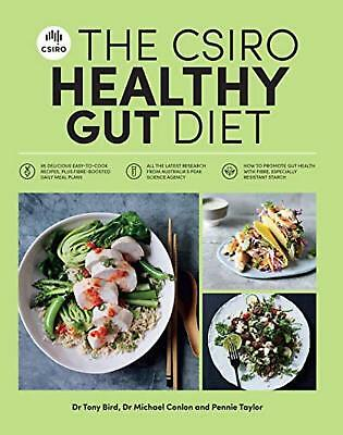 The CSIRO Healthy Gut Diet - Book by Pennie Taylor Paperback 2018 NEW FREE POST