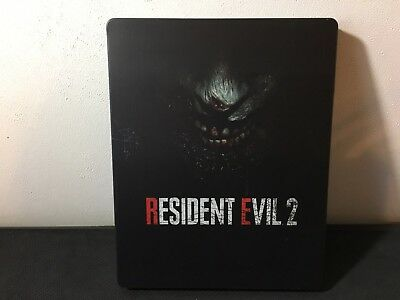 Resident Evil 2 REMAKE Steelbook ONLY Xbox One PS4 *NO GAME* Scratches On Cover