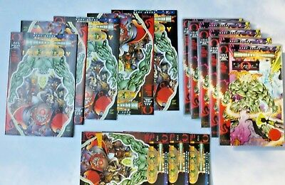 "LOT of 14 Sears TUROK #1 +INFINITY,ASHCAN,BRUTE & BABE ""It Begins"" Monument Sets"