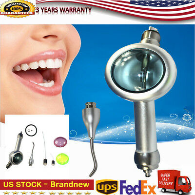 4H Dental Air Flow Teeth Polishing Polisher Handpiece Hygiene Prophy Jet Cleaner