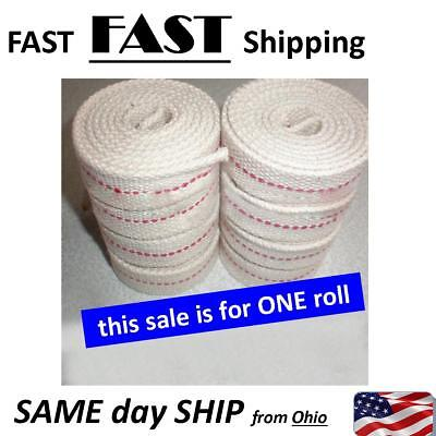 NEW Flat Cotton Oil Lamp Wick Roll For Oil Lamps and Lanterns - 1 roll