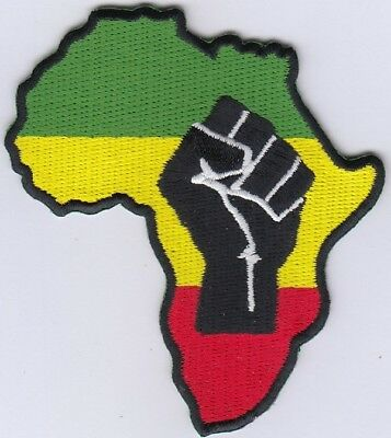 34 Pcs Rasta African Embroidered Patches iron-on