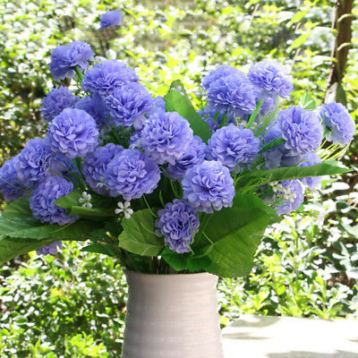 8 Hydrangea Artificial Flowers Home Decoration Fake Flowers