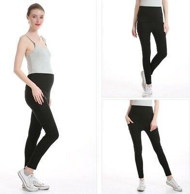 Maternity Cotton Pencil Pants For Pregnant Women Winter Wear Skinny Leggings