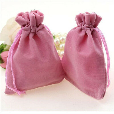 Hot 10Pcs Velvet Bags Favor Wedding Pouches Jewelry Packaging Gift Bags 7*5cm