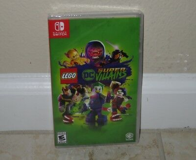 Nintendo SWITCH - LEGO DC SUPER VILLAINS (Brand New Sealed) NTSC world ship 2018