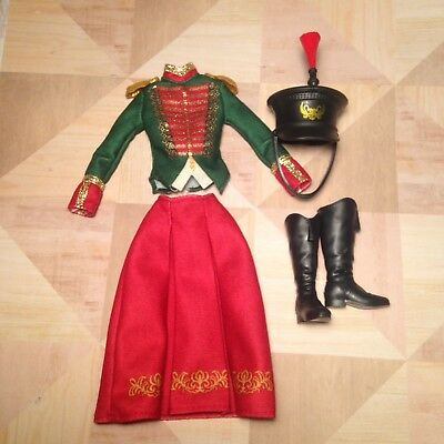Barbie Collector SKIPPER Clara: Clothes Soldier Outfit Skirt Top ~Nutcracker
